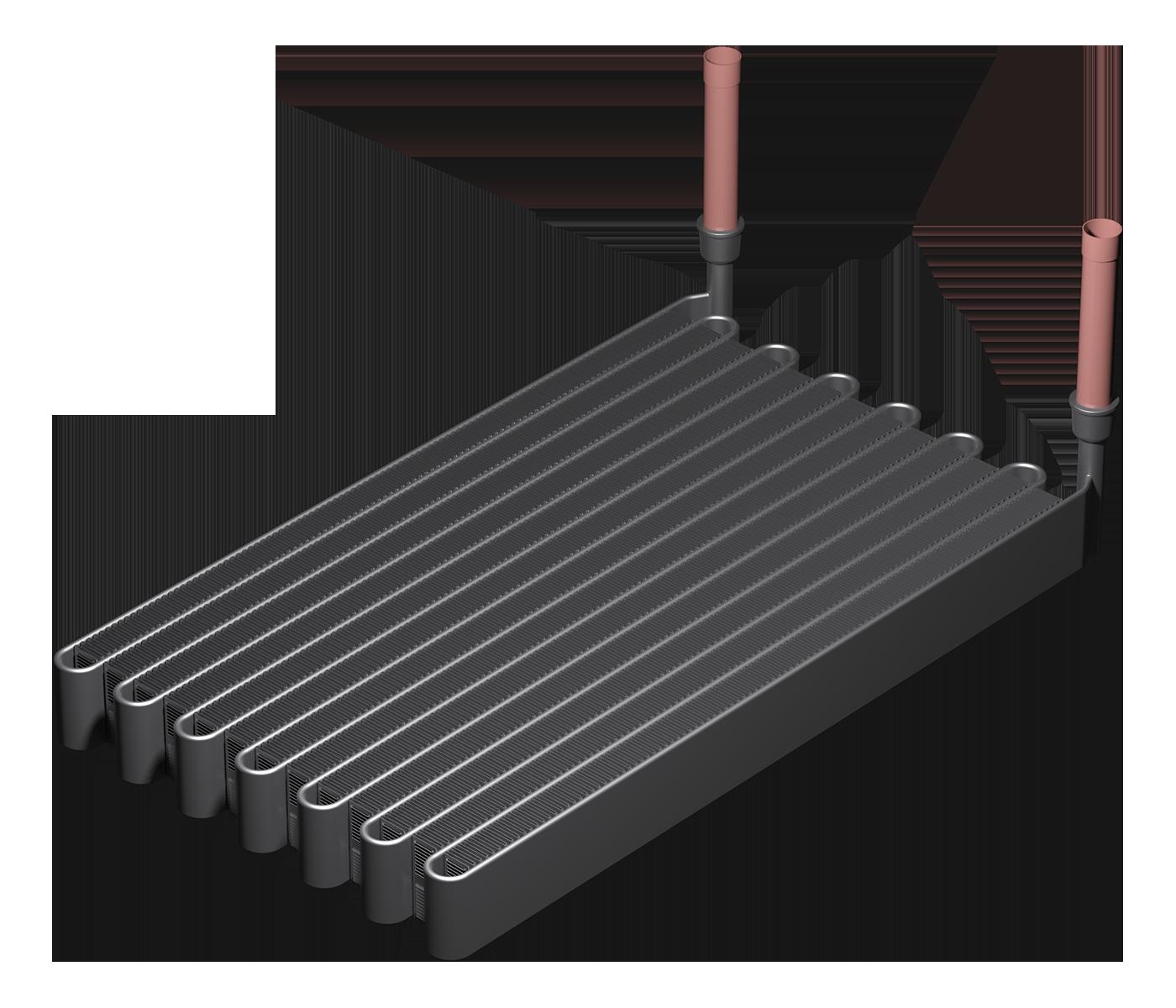 Micro-canaux à serpentin